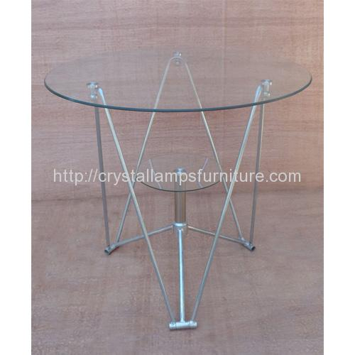 80 Round Table Glass
